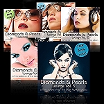 5 CD´s - Diamonds & Pearls Lounge Vol. 1-5
